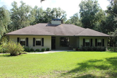 Ocala Single Family Home For Sale: 3537 SW 52nd Terrace