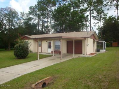 Dunnellon Single Family Home For Sale: 21462 SW Plantation Street
