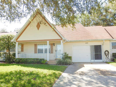 Ocala Single Family Home For Sale: 8530 SW 90th Street #D