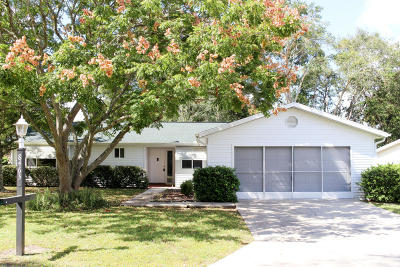 Ocala Single Family Home For Sale: 8463 SW 109th Place