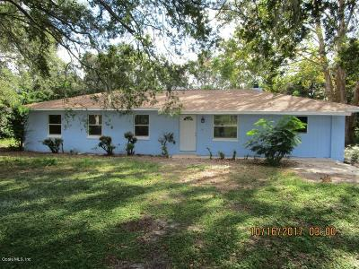 Ocala Single Family Home For Sale: 12696 W Highway 326