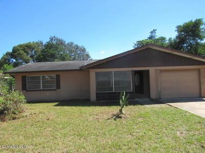 Ocala Single Family Home For Sale: 13 Bahia Court Loop
