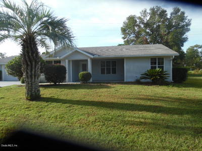 Lake County, Marion County Single Family Home For Sale: 8980 SW 116th Place Road