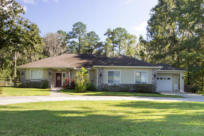 Ocala Single Family Home For Sale: 8661 SE 17th Court