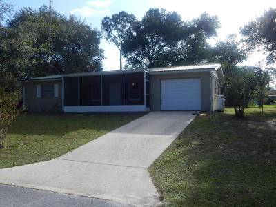 Williston Single Family Home For Sale: 1481 NE 157 Terrace