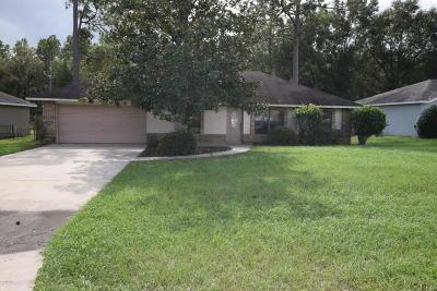 Ocala Single Family Home For Sale: 3530 NE 42nd Place