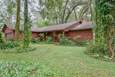 Ocala Single Family Home For Sale: 5750 W Anthony Road