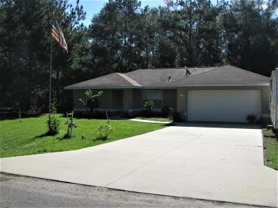 Ocklawaha Single Family Home For Sale: 21 Sequoia Loop Court