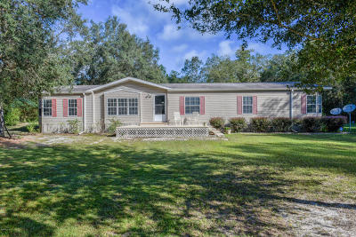 Dunnellon Single Family Home For Sale: 18425 SW 27th Street