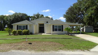 Summerfield Single Family Home For Sale: 4 Tomoka Place