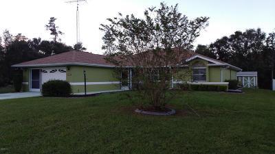 Ocala Single Family Home For Sale: 2773 SW 146th Street