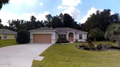 Ocala Single Family Home For Sale: 7644 SW 103rd Loop