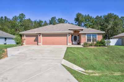 Ocala Single Family Home For Sale: 5249 SW 96th Place