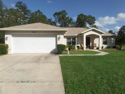 Ocala Single Family Home For Sale: 12895 SW 50 Terrace