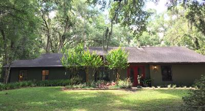 Micanopy Farm For Sale: 9500 NW 193rd Street