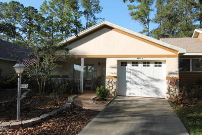Ocala Single Family Home For Sale: 8875 SW 97th Lane Road #D
