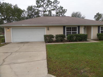 Ocala Single Family Home For Sale: 10 Pecan Pass