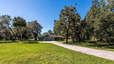 Summerfield Single Family Home For Sale: 14300 SE 100 Avenue