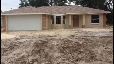 Belleview Single Family Home For Sale: 6025 SE 122 Lane