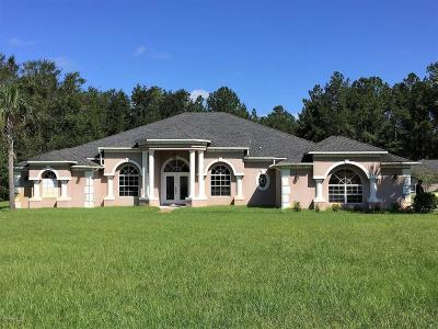Marion County Single Family Home For Sale: 14144 NW 141st Avenue