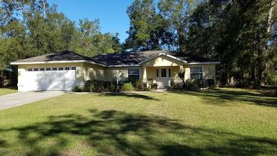 Belleview Single Family Home For Sale: 5437 SE 107th Place