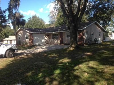 Belleview Single Family Home For Sale: 12069 SE 61st Court
