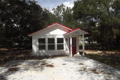 Dunnellon Single Family Home For Sale: 19155 St George Drive