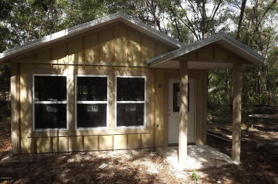 Dunnellon Single Family Home For Sale: 19085 St George Drive