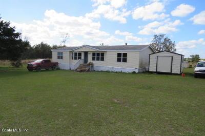 Williston Single Family Home For Sale: 650 NE 130th Avenue
