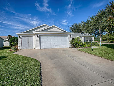 The Villages Single Family Home For Sale: 17354 SE 75th Coachman Court