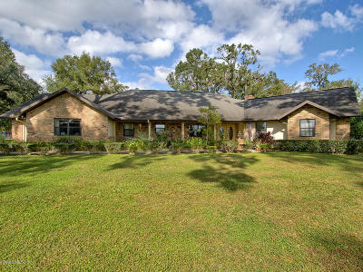 Ocala FL Single Family Home For Sale: $750,000