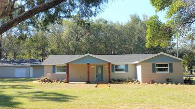 Levy County Single Family Home For Sale: 2210 SE Us Highway 41