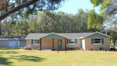 Morriston Single Family Home For Sale: 2210 SE Us Highway 41