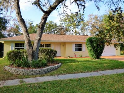 Citrus Springs Single Family Home For Sale: 9137 N Golfview Drive