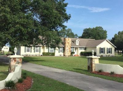 Marion County Single Family Home For Sale: 10410 SW 71st Court