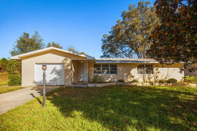 Dunnellon Single Family Home For Sale: 20131 SW 83rd Street