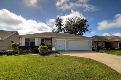 The Villages Single Family Home For Sale: 9430 SE 176th Saffold Street