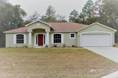 Citrus Springs Single Family Home For Sale: 8068 N Creek Way