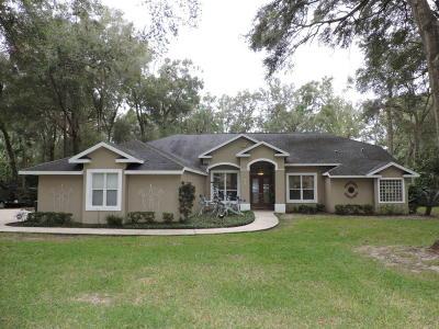 Ocala Single Family Home For Sale: 5345 NE 1 Lane
