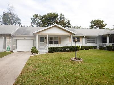 Ocala Single Family Home For Sale: 8701 SW 94th Street #E