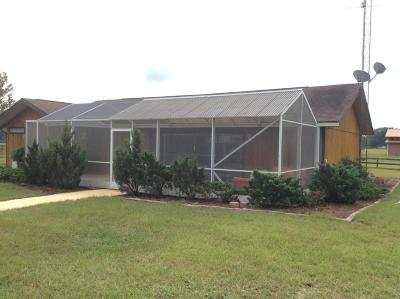 Marion County Rental For Rent: 12690 SW 112th St, Road