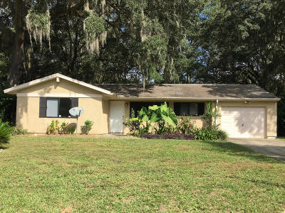 Ocala Single Family Home For Sale: 32 Cedar Tree Terrace