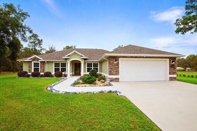 Dunnellon Single Family Home For Sale: 12600 SW 98th Street
