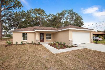 Summerfield Single Family Home For Sale: SE 161st Street