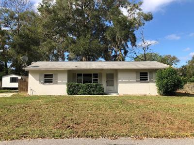 Ocala Single Family Home For Sale: 2218 NE 18th Court