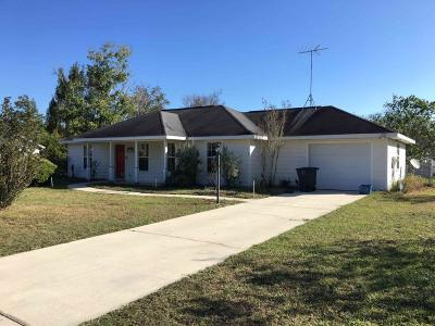 Levy County Single Family Home For Sale: 709 SE 1 Street