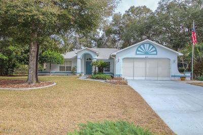 Citrus Springs Single Family Home For Sale: 8879 N Sandree Drive