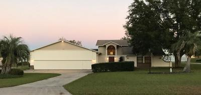 Ocala Single Family Home For Sale: 8977 SE 70 Terrace