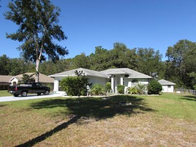 Dunnellon Single Family Home For Sale: 19975 SW 57 Street