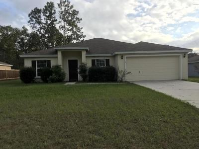 Marion County Rental For Rent: 7110 130th Lane Road